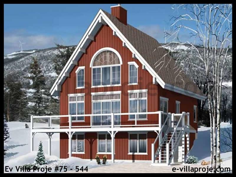 Ev Villa Proje #75 – 544, 3 katlı, 5 yatak odalı, 0 garajlı, 233 m2