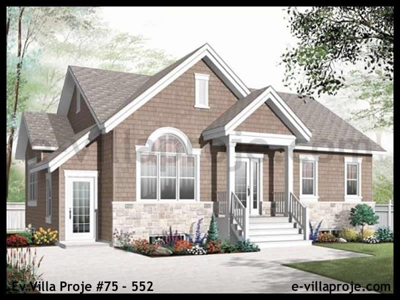 Ev Villa Proje #75 – 552, 2 katlı, 4 yatak odalı, 0 garajlı, 219 m2