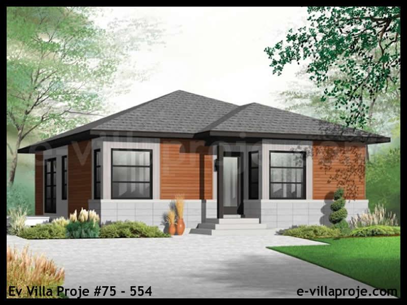 Ev Villa Proje #75 – 554, 1 katlı, 2 yatak odalı, 0 garajlı, 87 m2