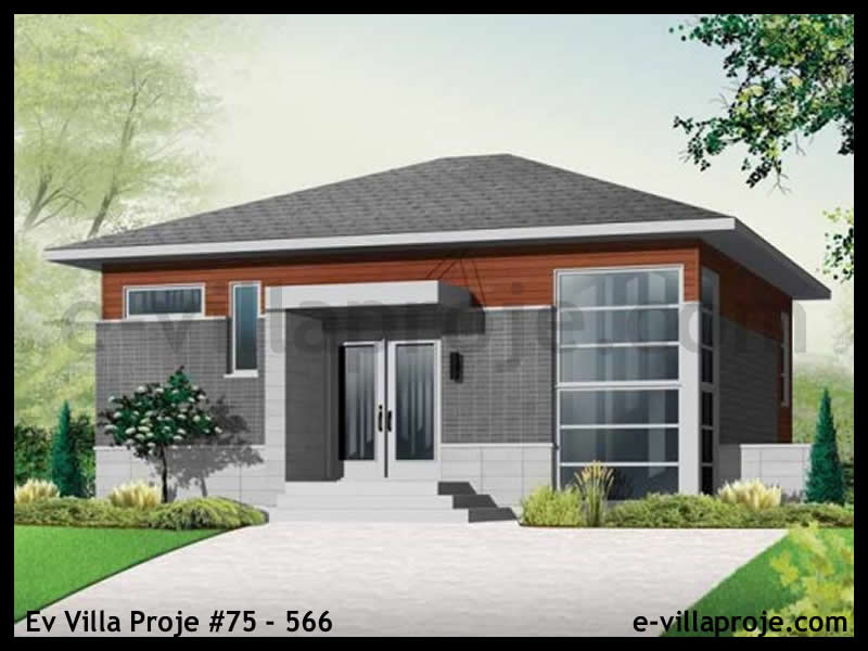 Ev Villa Proje #75 – 566, 2 katlı, 3 yatak odalı, 0 garajlı, 143 m2