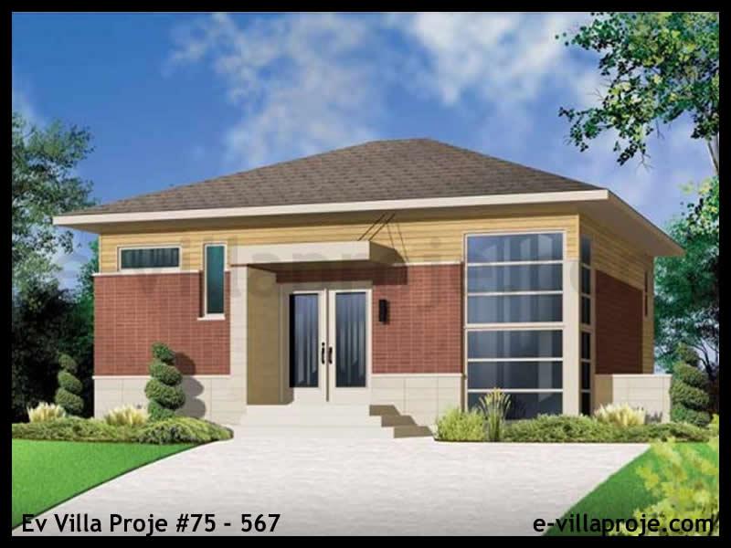Ev Villa Proje #75 – 567, 2 katlı, 3 yatak odalı, 0 garajlı, 143 m2