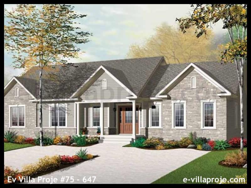 Ev Villa Proje #75 – 647, 1 katlı, 3 yatak odalı, 0 garajlı, 179 m2