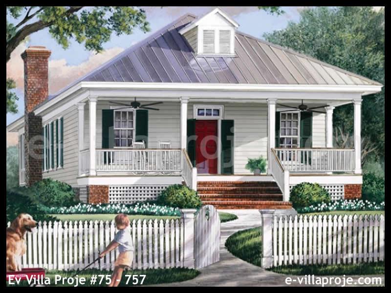 Ev Villa Proje #75 – 757, 1 katlı, 3 yatak odalı, 0 garajlı, 148 m2