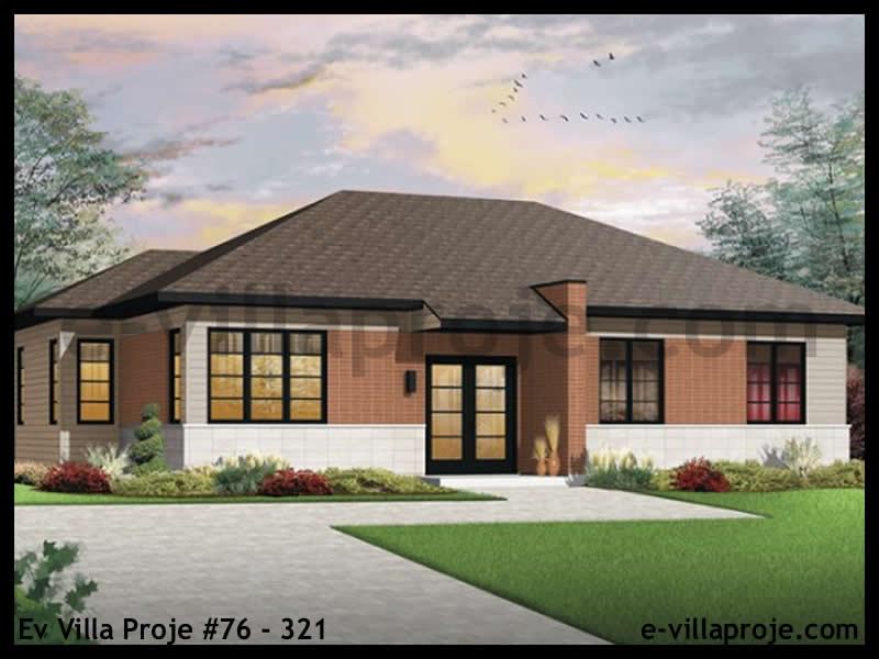 Ev Villa Proje #76 – 321, 1 katlı, 3 yatak odalı, 0 garajlı, 127 m2