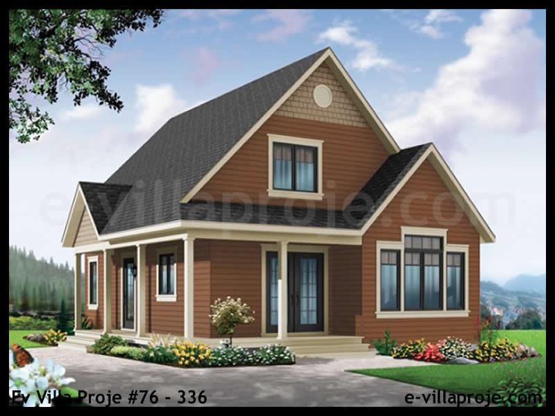 Ev Villa Proje #76 – 336, 2 katlı, 2 yatak odalı, 0 garajlı, 128 m2