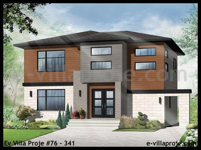 Ev Villa Proje #76 – 341, 2 katlı, 3 yatak odalı, 0 garajlı, 169 m2