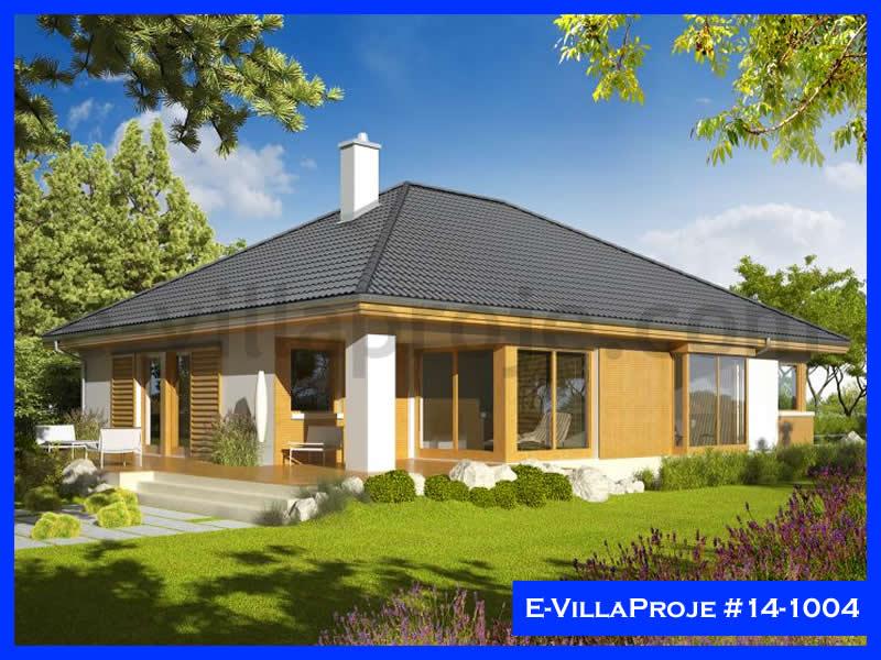 Ev Villa Proje #14 – 1004, 1 katlı, 3 yatak odalı, 1 garajlı, 157 m2