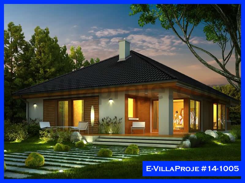 Ev Villa Proje #14 – 1005, 1 katlı, 3 yatak odalı, 1 garajlı, 161 m2