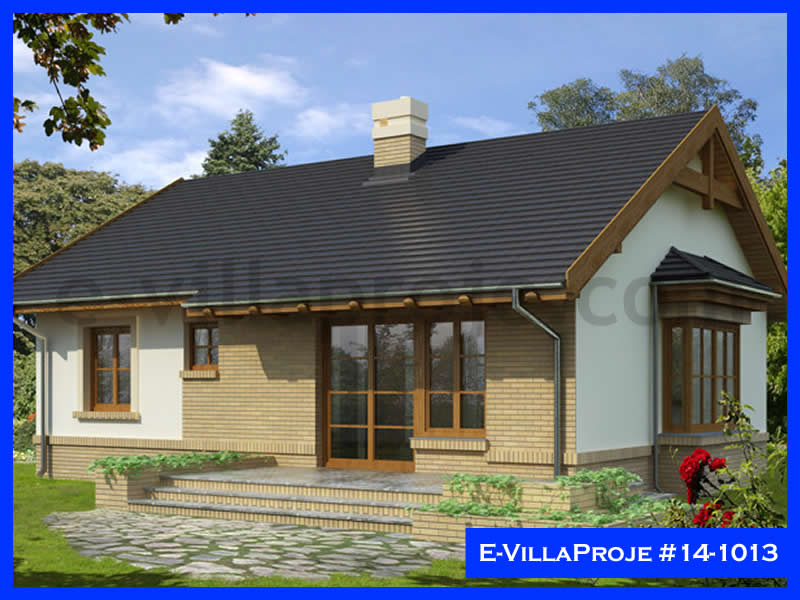 Ev Villa Proje #14 – 1013, 1 katlı, 2 yatak odalı, 0 garajlı, 96 m2