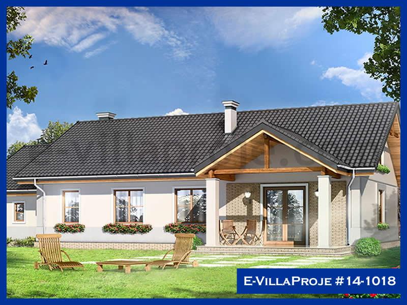 Ev Villa Proje #14 – 1018, 1 katlı, 4 yatak odalı, 1 garajlı, 148 m2