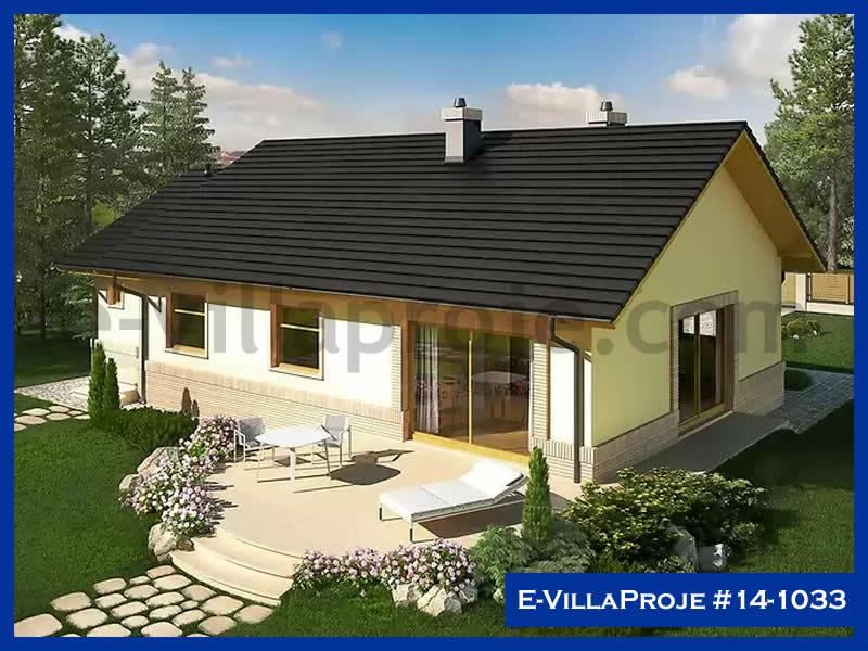 E-VillaProje #14-1033, 1 katlı, 3 yatak odalı, 1 garajlı, 119 m2
