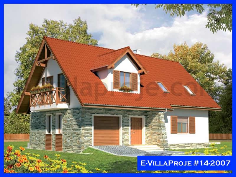 Ev Villa Proje #14 – 2007, 2 katlı, 3 yatak odalı, 1 garajlı, 170 m2