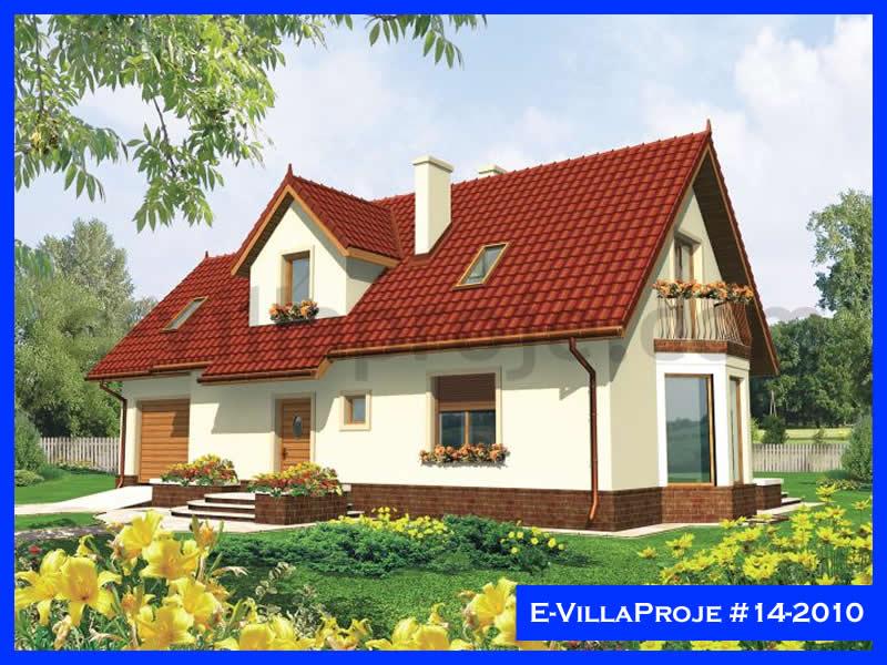 Ev Villa Proje #14 – 2010, 2 katlı, 3 yatak odalı, 1 garajlı, 129 m2