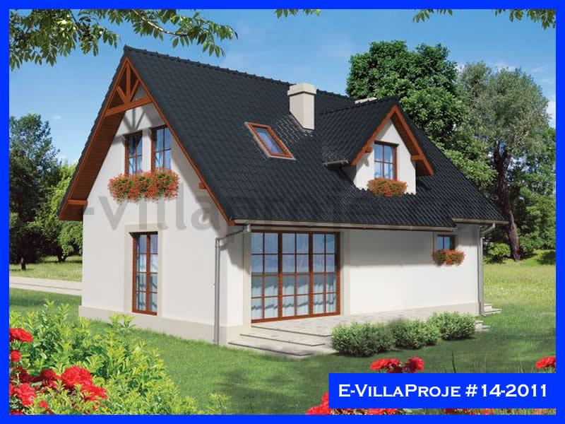 Ev Villa Proje #14 – 2011, 2 katlı, 3 yatak odalı, 1 garajlı, 106 m2