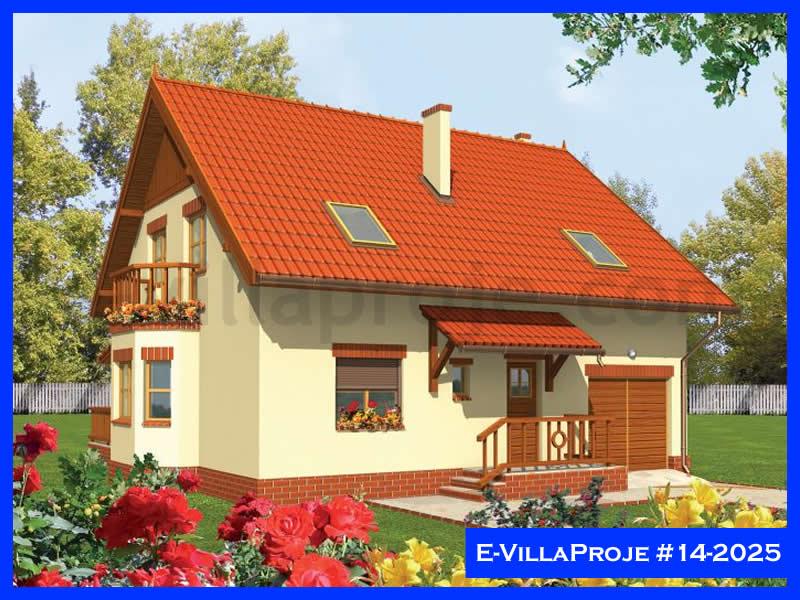 Ev Villa Proje #14 – 2025, 2 katlı, 3 yatak odalı, 1 garajlı, 205 m2