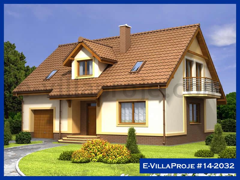 Ev Villa Proje #14 – 2032, 2 katlı, 4 yatak odalı, 1 garajlı, 242 m2