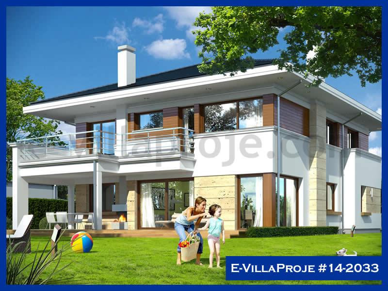Ev Villa Proje #14 – 2033, 2 katlı, 5 yatak odalı, 2 garajlı, 408 m2