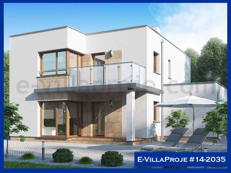 Ev Villa Proje #14 – 2035, 2 katlı, 5 yatak odalı, 1 garajlı, 241 m2