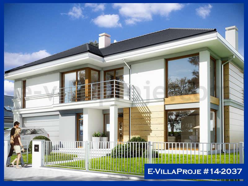 Ev Villa Proje #14 – 2037, 2 katlı, 5 yatak odalı, 2 garajlı, 311 m2