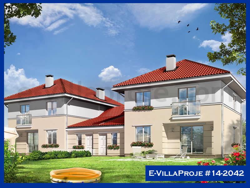 Ev Villa Proje #14 – 2042, 2 katlı, 4 yatak odalı, 2 garajlı, 194 m2