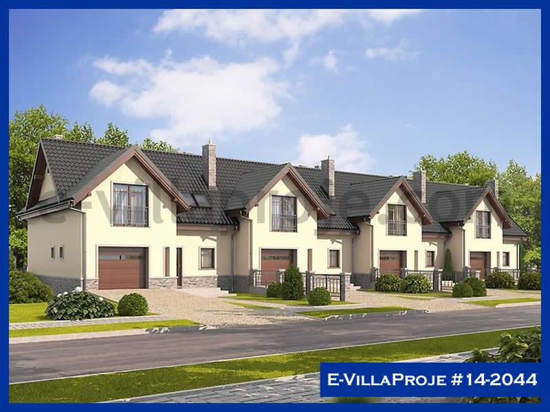 Ev Villa Proje #14 – 2044, 2 katlı, 3 yatak odalı, 1 garajlı, 128 m2