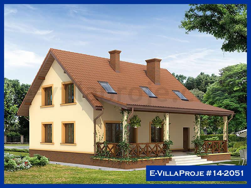 Ev Villa Proje #14 – 2051, 2 katlı, 3 yatak odalı, 1 garajlı, 216 m2