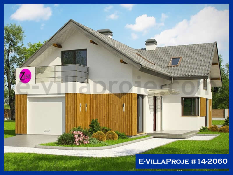 E-VillaProje #14-2060, 2 katlı, 3 yatak odalı, 1 garajlı, 205 m2