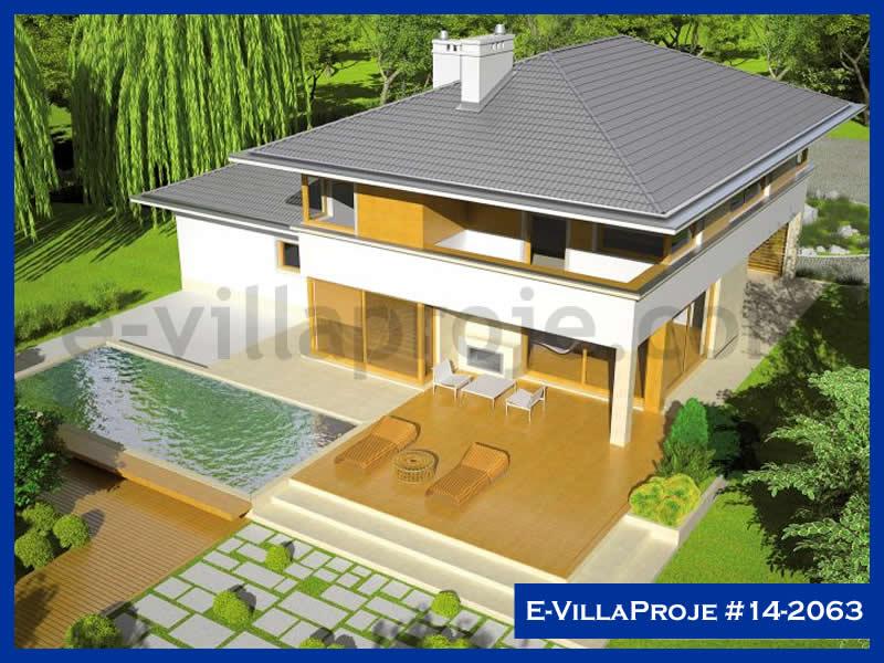 E-VillaProje #14-2063, 2 katlı, 4 yatak odalı, 2 garajlı, 249 m2