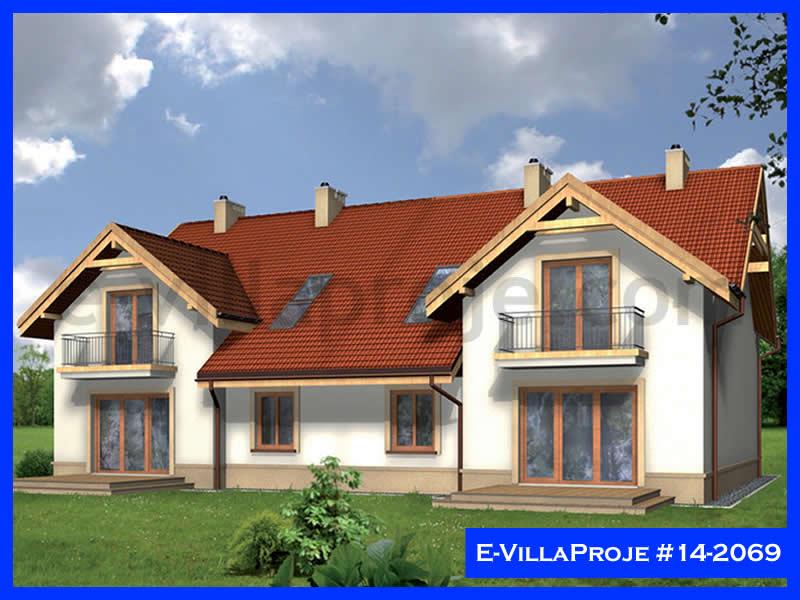 E-VillaProje #14-2069, 2 katlı, 5 yatak odalı, 1 garajlı, 174 m2
