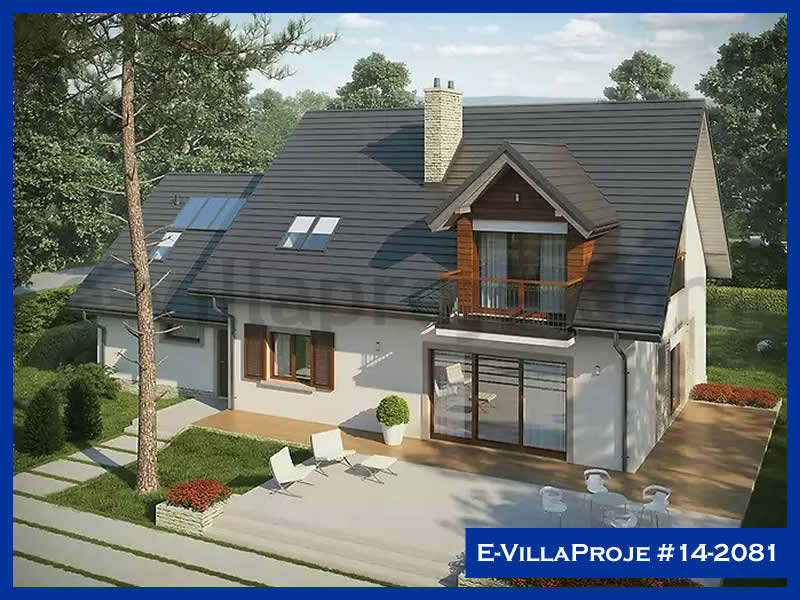 E-VillaProje #14-2081, 2 katlı, 4 yatak odalı, 2 garajlı, 226 m2