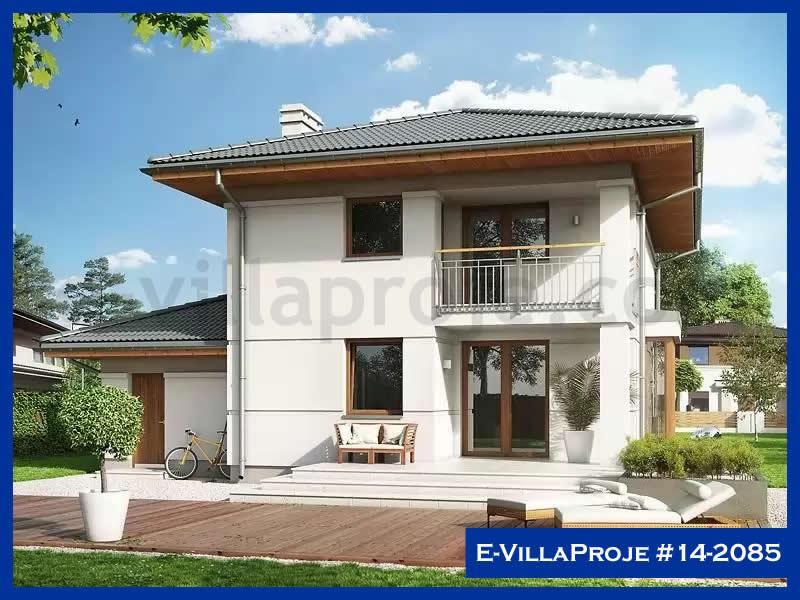 E-VillaProje #14-2085, 2 katlı, 3 yatak odalı, 1 garajlı, 166 m2