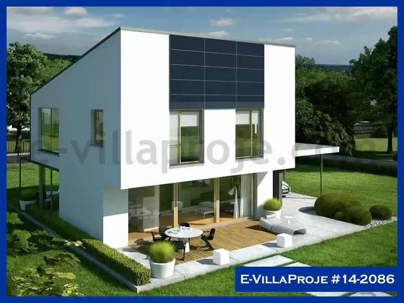 E-VillaProje #14-2086, 2 katlı, 3 yatak odalı, 1 garajlı, 195 m2