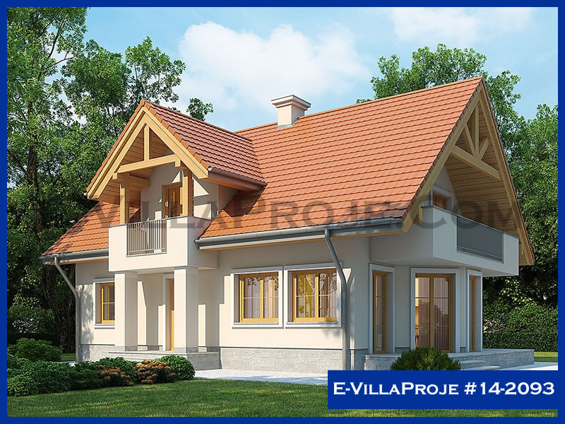 E-VillaProje #14-2093, 2 katlı, 4 yatak odalı, 0 garajlı, 207 m2