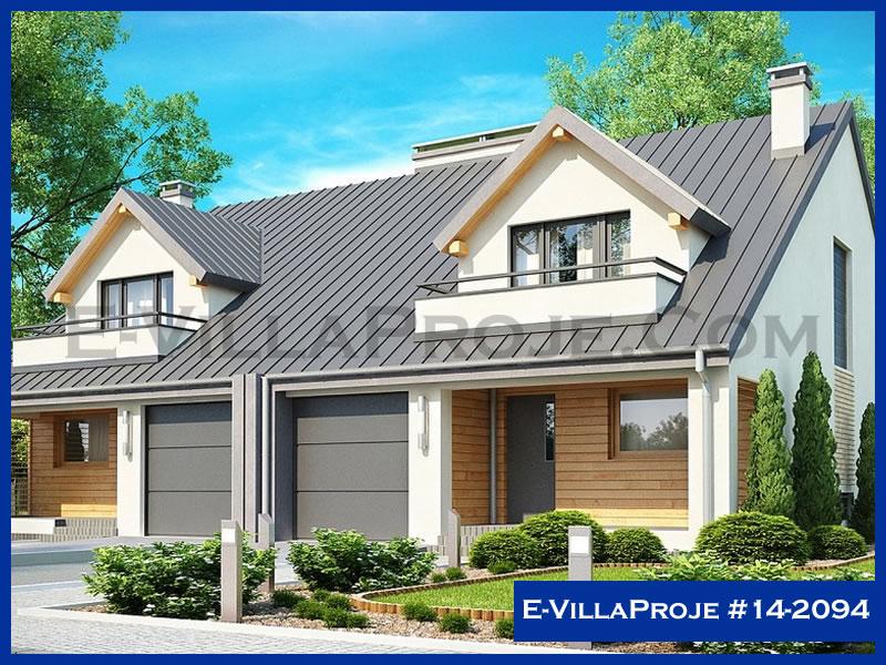 E-VillaProje #14-2094, 2 katlı, 3 yatak odalı, 1 garajlı, 217 m2
