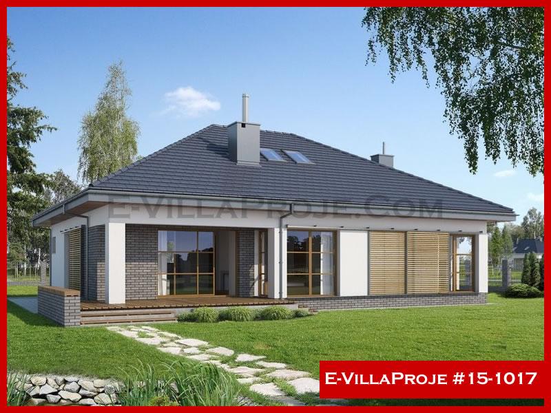 Ev Villa Proje #15 – 1017, 1 katlı, 2 yatak odalı, 1 garajlı, 140 m2