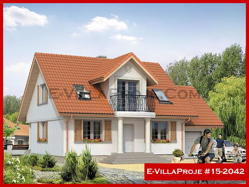 Ev Villa Proje #15 – 2042, 2 katlı, 3 yatak odalı, 0 garajlı, 190 m2