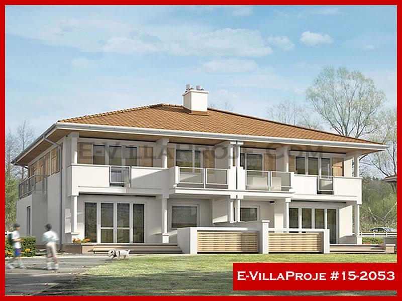 Ev Villa Proje #15 – 2053, 2 katlı, 3 yatak odalı, 1 garajlı, 221 m2