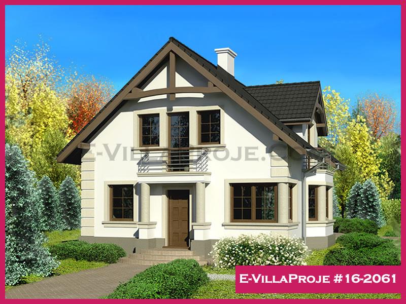 Ev Villa Proje #16 – 2061, 2 katlı, 4 yatak odalı, 0 garajlı, 170 m2