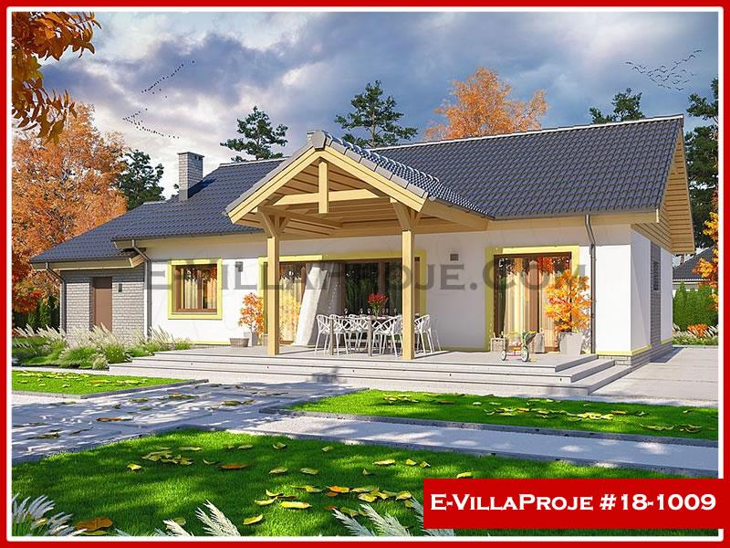 Ev Villa Proje #18 – 1009, 1 katlı, 4 yatak odalı, 1 garajlı, 139 m2
