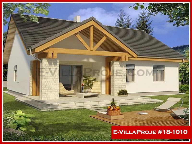 Ev Villa Proje #18 – 1010, 1 katlı, 3 yatak odalı, 1 garajlı, 145 m2
