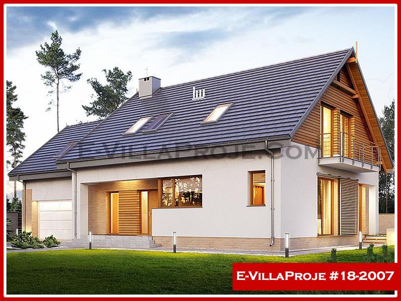 Ev Villa Proje #18 – 2007, 2 katlı, 5 yatak odalı, 2 garajlı, 266 m2