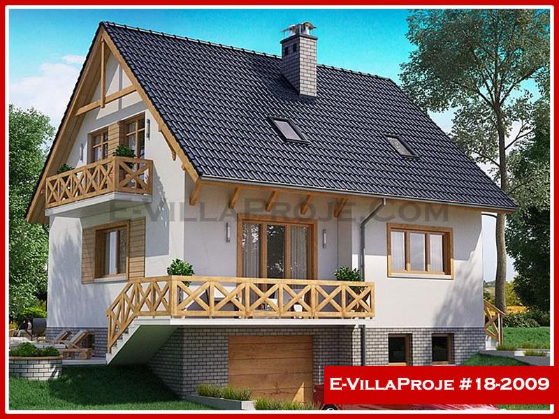 Ev Villa Proje #18 – 2009, 3 katlı, 4 yatak odalı, 1 garajlı, 185 m2