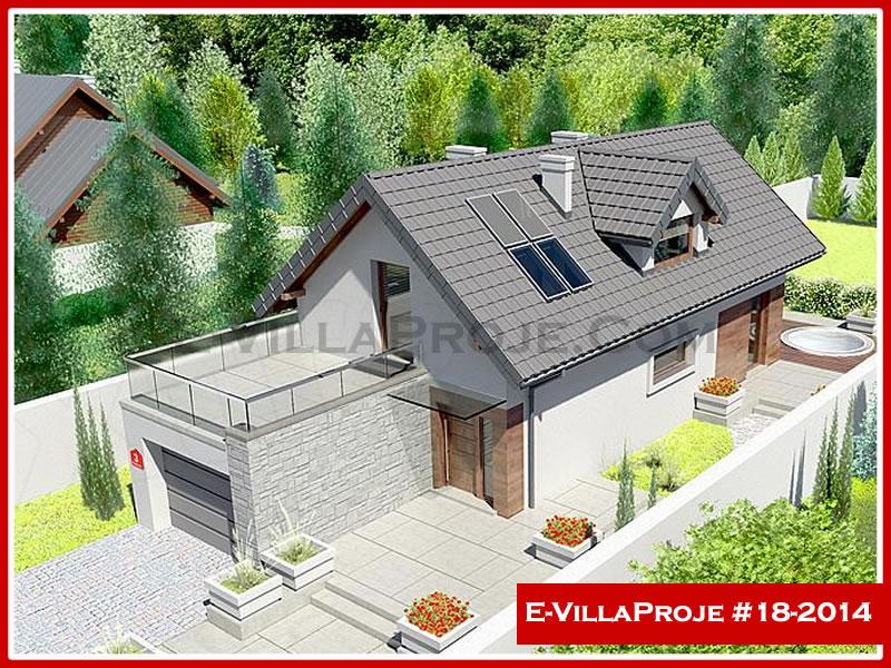 Ev Villa Proje #18 – 2014, 2 katlı, 3 yatak odalı, 1 garajlı, 166 m2