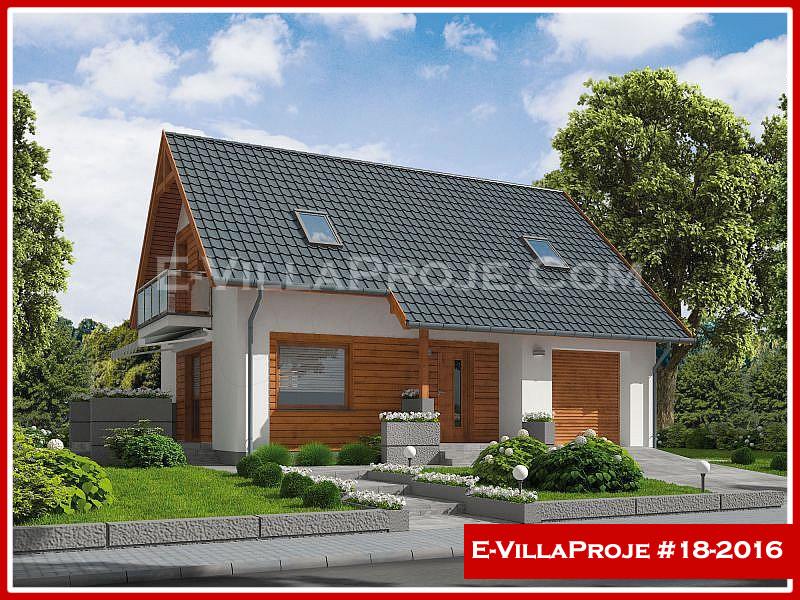 Ev Villa Proje #18 – 2016, 2 katlı, 3 yatak odalı, 1 garajlı, 145 m2