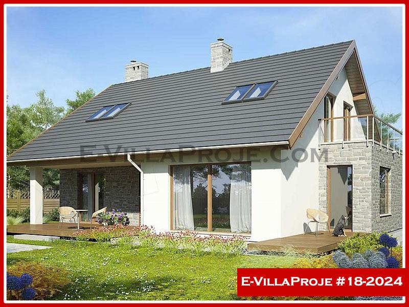 Ev Villa Proje #18 – 2024, 2 katlı, 5 yatak odalı, 0 garajlı, 237 m2