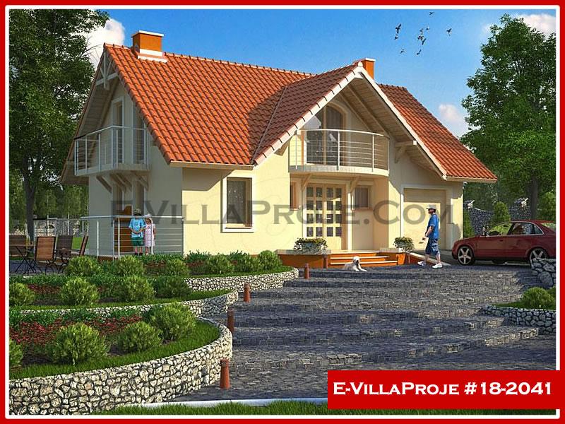 Ev Villa Proje #18 – 2041, 2 katlı, 3 yatak odalı, 1 garajlı, 161 m2