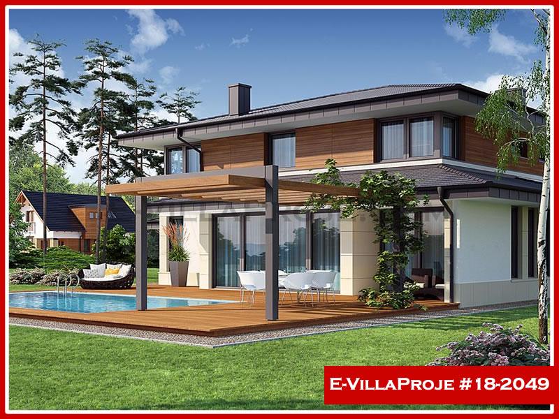 Ev Villa Proje #18 – 2049, 2 katlı, 4 yatak odalı, 2 garajlı, 306 m2