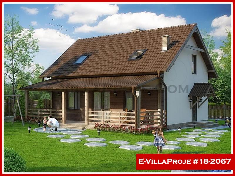 Ev Villa Proje #18 – 2067, 2 katlı, 3 yatak odalı, 0 garajlı, 173 m2