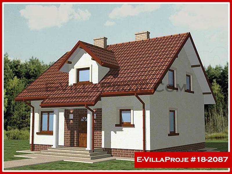 Ev Villa Proje #18 – 2087, 2 katlı, 4 yatak odalı, 0 garajlı, 192 m2