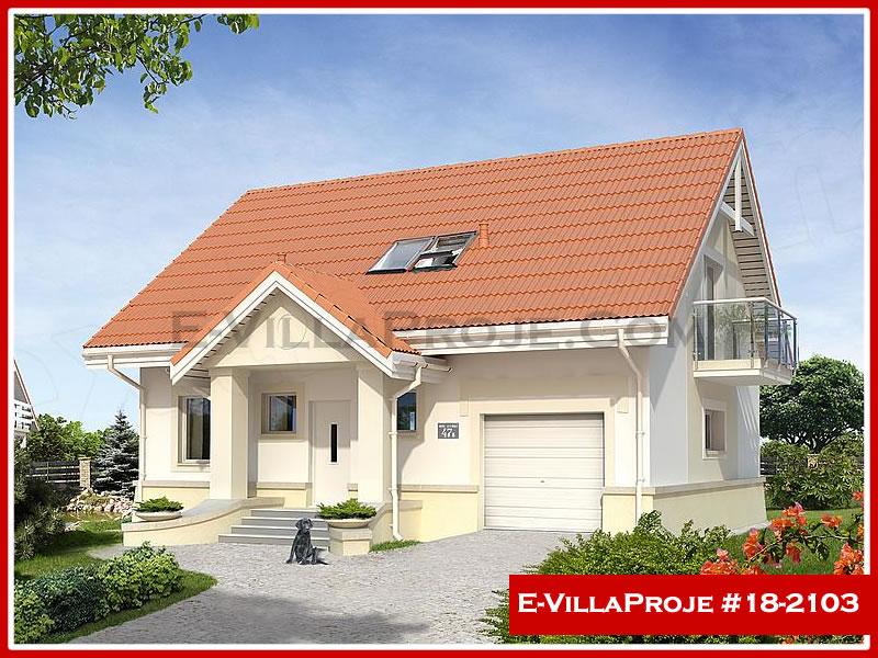 Ev Villa Proje #18 – 2103, 2 katlı, 3 yatak odalı, 1 garajlı, 206 m2